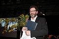 Per Petterson vinnare av Nordiska radets litteraturpris 2009 vid utdelningen i Stockholm under Nordiska radets session.jpg