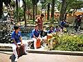 Percussionistes d'Identidades Peruanas a Huacachina.jpg