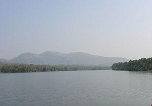 Periyar (river) - Periyar river at Bhoothathankettu near Kothamangalam, Ernakulam.