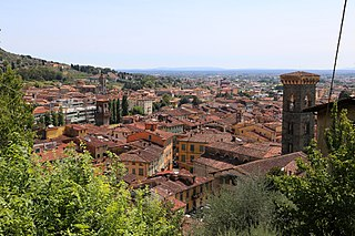 Pescia Comune in Tuscany, Italy