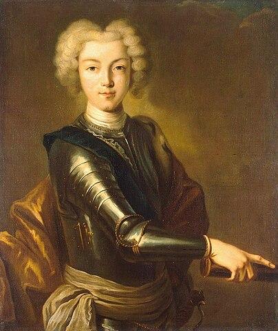Портрет Петра II.Неизв. худ., 1800