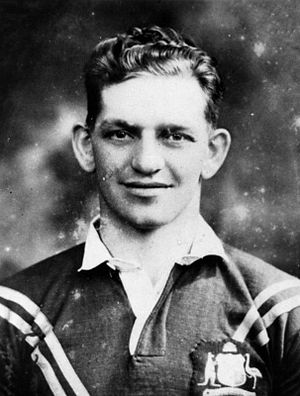 1933–34 Kangaroo tour of Great Britain - Mick Madsen, 2nd Test captain