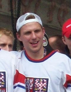Petr Vampola, Czech ice hockey team 2010.jpg