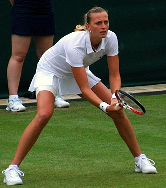 2014 WTA Tour - Image: Petra Kvitova Wimbledon 2014 (cropped 1)