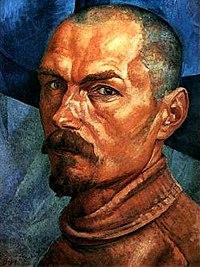 PetrovVodkin Avtoportret 1918.jpg