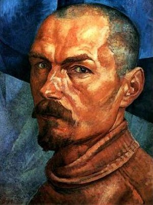 Kuzma Petrov-Vodkin - Self-portrait (1918)