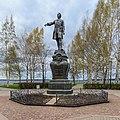 Petrozavodsk 06-2017 img50 Peter I monument.jpg