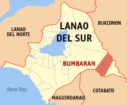 Location in Lanao del Sur