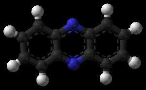 Phenazine - Image: Phenazine 3D balls B