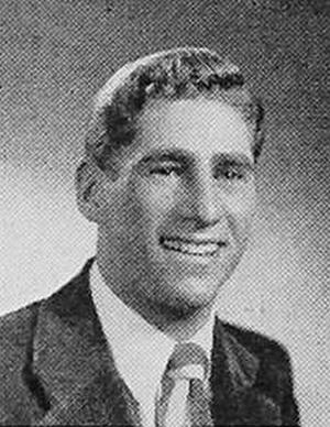 Phil Slosburg - Slosburg pictured c. 1948 at Temple University