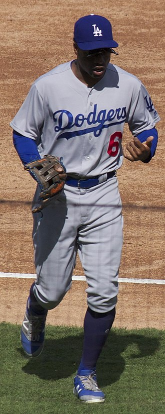 Curtis Granderson - Granderson with the Los Angeles Dodgers in 2017