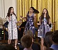 Phillipa Soo, Renée Elise Goldsberry, Jasmine Cephas-Jones Hamilton White House 03 (cropped).jpg