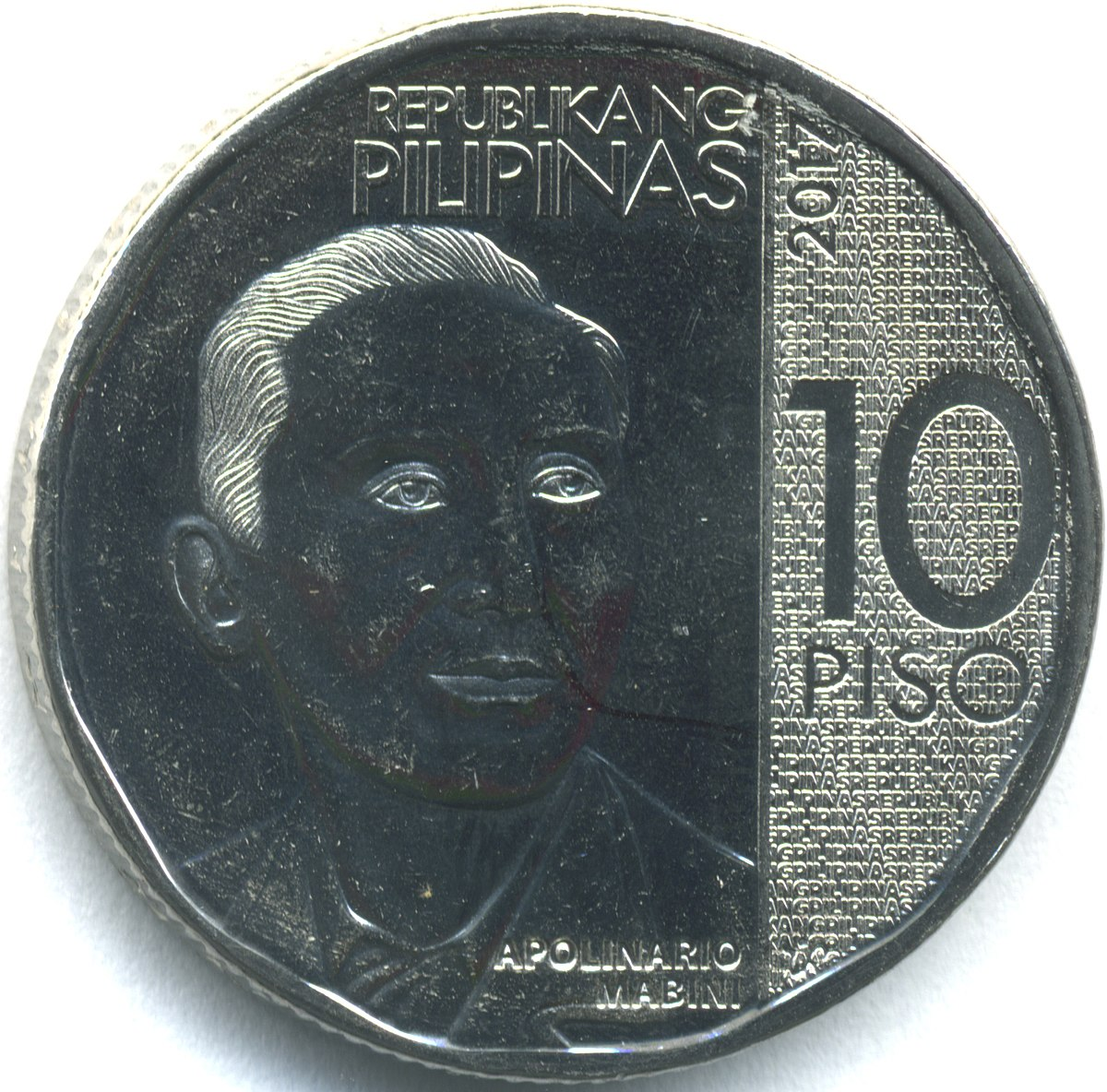 Coin Ph: Philippine Ten Peso Coin