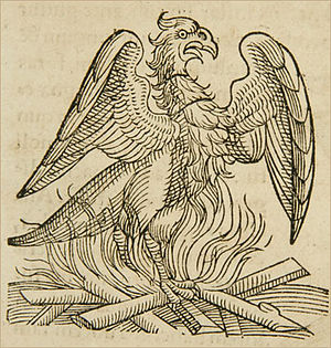 Conrad Lycosthenes - A phoenix from Apophthegmata