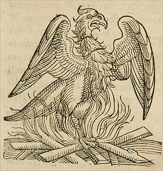 Conrad Lycosthenes - A phoenix from Apophthegmata