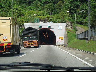 North–South Expressway Northern Route - The Menora Tunnel
