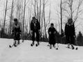 Photograph of Four Skiers - NARA - 2128564.tif