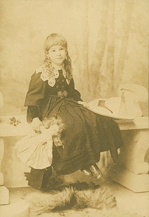 Sara Teasdale - Photograph of Sara Teasdale as a young girl
