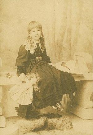 Sara Teasdale - Photograph of Sara Teasdale as a young girl