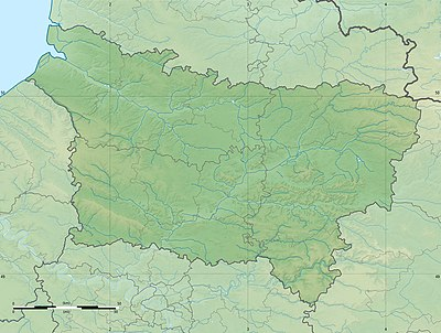 Location map France Picardy