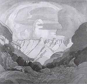 Jacobus Hendrik Pierneef - Image: Pierneef 1925 32 Mont aux Sorces