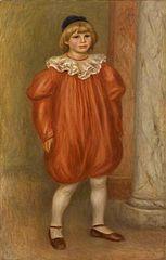 Claude Renoir as a Clown