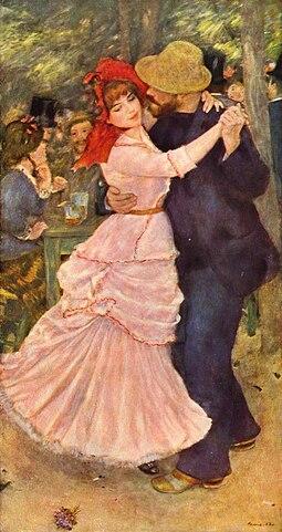 «Танец в Буживале» (1883), Бостонский музей изящных искусств