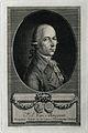 Pierre Joseph Bavegem. Line engraving by A. Cardon after J. Wellcome V0000414.jpg