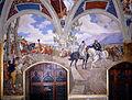 Pietro Aldi - Victor Emanuel II Meeting Giuseppe Garibaldi at Teano - Google Art Project.jpg