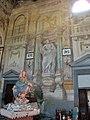 Pieve di marti, interno, affreschi di anton domenico bamberini 01.JPG