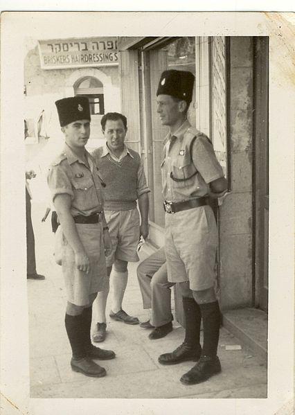 שלמה קרמר בפטרול משטרתי בירושלים