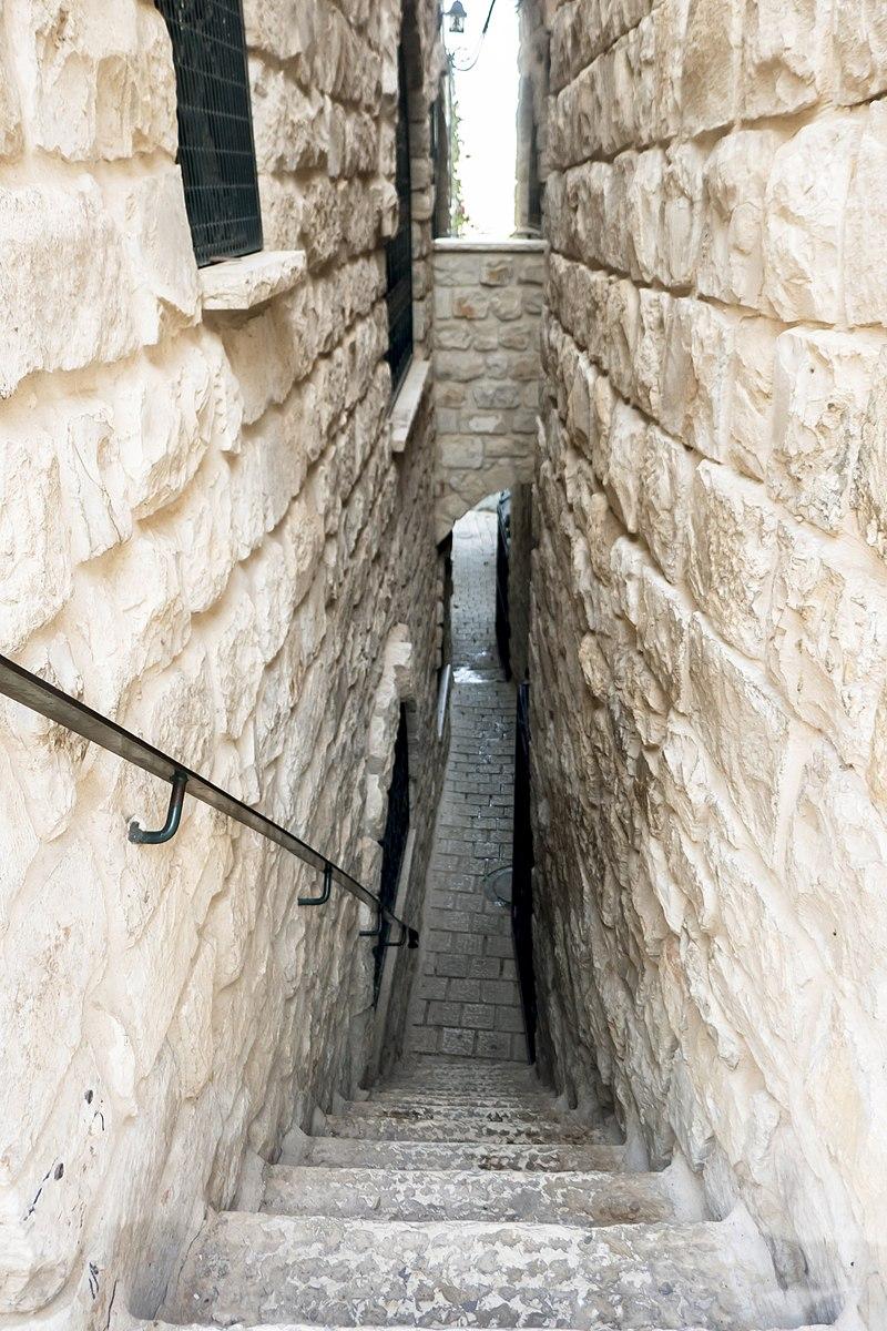 צפת העתיקה,סימטת המשיח הרובע היהודי
