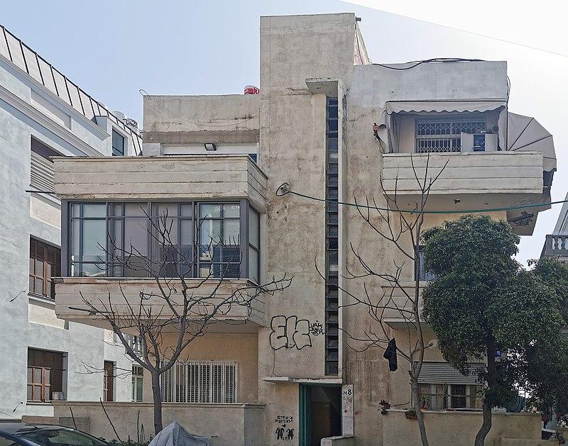 הבית ברחוב יהודה הלוי 8 א בתל אביב