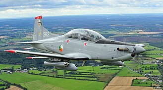 Irish Air Corps - Pilatus PC-9M flying in formation
