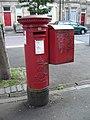 Pillar box, Montgomery Street - geograph.org.uk - 1522695.jpg
