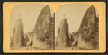 Pillars of Hercules, Columbia River, Oregon, from Robert N. Dennis collection of stereoscopic views.png