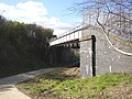 Pipe bridge over the Calder Valley Greenway - geograph.org.uk - 382075.jpg