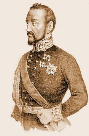 Italian Minister of Foreign Affairs - Image: Pistolesi Saverio generale Giacomo Durando litografia 1860