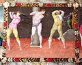 Pittore tosco-emiliano, misteri del rosario, 1550-1600 circa 08 flaggellazione.JPG