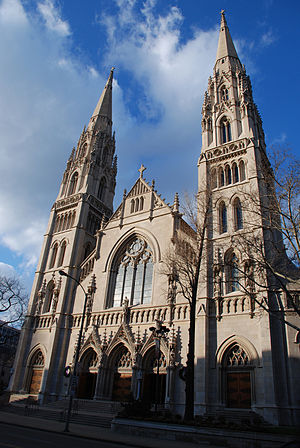 Roman Catholic Diocese of Pittsburgh - Cathedral of Saint Paul, seat of the bishop of Pittsburgh.