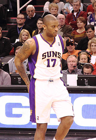 P. J. Tucker - Tucker with the Suns in December 2012