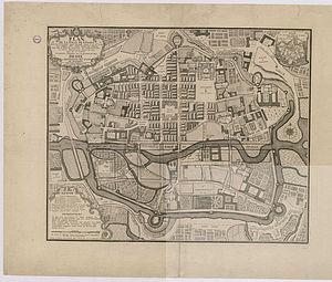 Plan de la ville de Rennes (F. Forestier, 1726).jpg