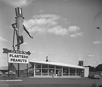 Planters - Image: Planters Peanuts store Raleigh, North Carolina