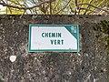 Plaque du Chemin Vert (Beynost).jpg