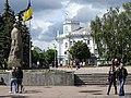 Plaza Scene - Zhytomyr - Polissya Region - Ukraine (26530191914).jpg