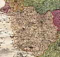 Plzeňský kraj na Vogtově mapě 1712.jpg