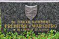 Poertschach Ortsfriedhof Grab Oskar Norbert Freiherr von Warsberg 15072011 285.jpg