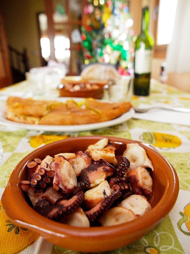 Polbo e empanada, Galiza