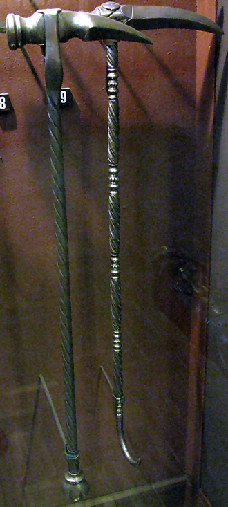 Horseman's pick - Polish Horseman's picks from the 17th century