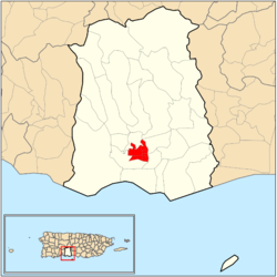 Map of the Historic Zone within the municipality of Ponce